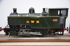 main view 1101 Class GWR live steam dock tank 040 loco for sale