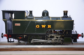 right view 1101 Class GWR live steam dock tank 040 loco for sale