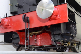 buffer view 1101 Class GWR live steam dock tank 040 loco for sale