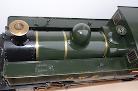 dome view 1101 Class GWR live steam dock tank 040 loco for sale