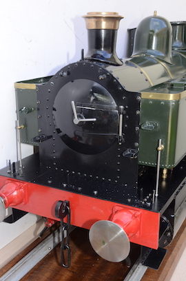 front view 1101 Class GWR live steam dock tank 040 loco for sale