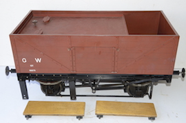 "drivers view 1366 GWR 7.25"" gauge live steam 060 pannier tank loco for sale"