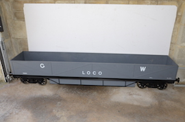 "main view GWR 7.25"" gauge live steam passenger wagons for sale"