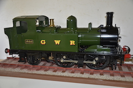 "5"" GWR 14XX live steam tank loco for sale"