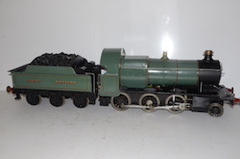 "main 5"" GWR 43XX 2-6-0 Electric tender loco live steam for sale"