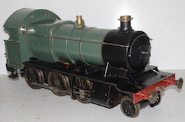 "engine 5"" GWR 43XX 2-6-0 Electric tender loco live steam for sale"