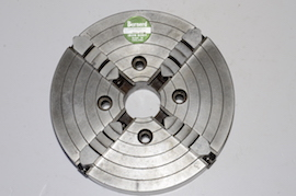 "Bunerd 8"" 4 jaw independent slim body lathe chuck for sale"