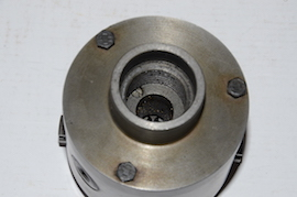 back Myford TOS 80mm 4 jaw self centering chuck for sale