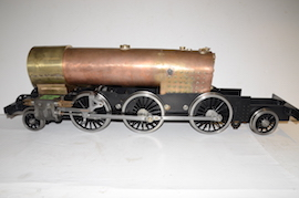 main view Enterprise live steam tank loco 2-6-2 Martin Evans LNER V1 for sale