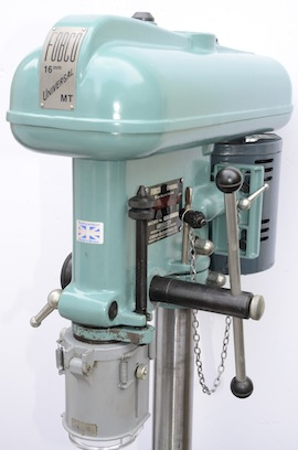 main view fobco universal 16mm bench piller drill for sale