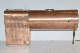 "5"" Jinty LMS 0-6-0 professional copper boiler by Western Steam Martin Evans for sale"