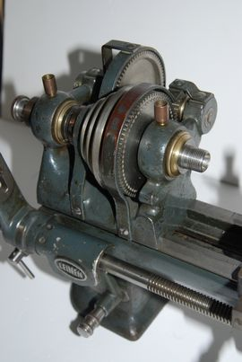 spindle view leinen screcutting lathe for sale