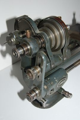 gear view leinen screcutting lathe for sale