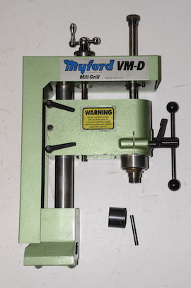 Myfored VM-D VMD milling attachment for the Myford ML10 lathe for sale