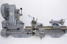 main view Myford ML7 lathe for sale K5252