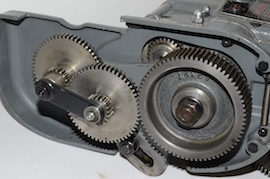 drive view norton gearbox  Myford super 7 7B ML7 ML7R  for sale