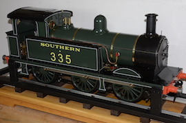 "main view Southern 335 R1 class SE & CR 5"" 0-6-0 live steam tank loco Maxitrak for sale"