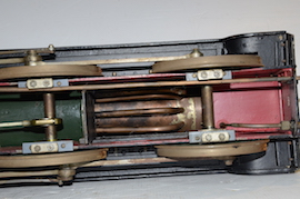 "under view Vintage vintage 3.5"" live steam loco locomotive  LBSC Roedean Schools 4-4-0 for sale"
