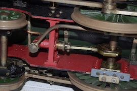 "pump view Vintage vintage 3.5"" live steam loco locomotive  LBSC Roedean Schools 4-4-0 for sale"