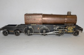 main view 3.5 Jubilee live steam loco locomotive  tank stanier martin evans for sale