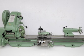 main view Myford Super 7 long bed lathe for sale SKL154421