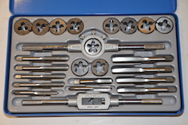 main view Imperial UNC UNF Tap & Die set for sale