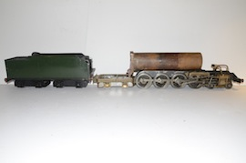 main view Uranus 2.5 LBSC live steam 484 tender loco for sale