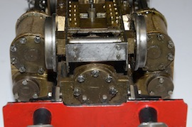 buffer view Uranus 2.5 LBSC live steam 484 tender loco for sale