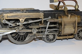 motion view Uranus 2.5 LBSC live steam 484 tender loco for sale