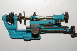 front view adept lathe for sale