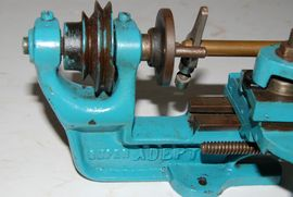 bed view adept lathe for sale