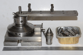 main view ball turning & rotating collet for lathe or milling for sale