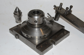 parts view ball turning & rotating collet for lathe or milling for sale