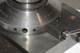 graduations view ball turning & rotating collet for lathe or milling for sale