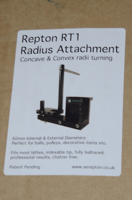 box Repton RT1 ball turning radius cutting tool for lathe concave or convex for sale