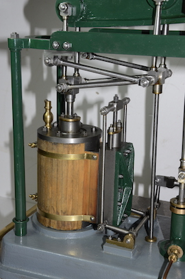 motion view live steam large beam engine for sale