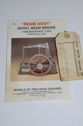 info view Beam andy  live steam beam engine for sale