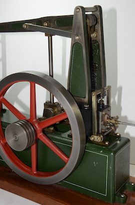 wheel view Beam andy  live steam beam engine for sale