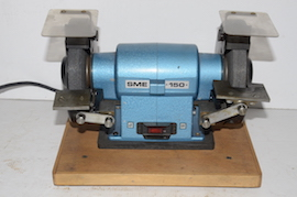 "main view SME bench grinder 6"" for sale"