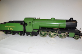 "main view 3.5"" Betty the mongoliper LBSC live steam tender loco for sale"