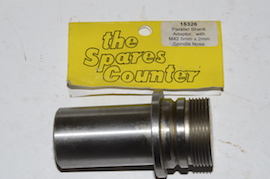 Myford big bore spindle parallel thread shank M42.5mm x 2mm