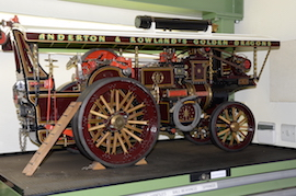 Burrell Showmans live steam traction engine Dragon for sale