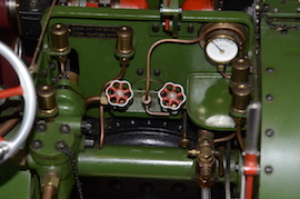 "gauge2 view Burrell 3"" live steam road traction engine for sale"
