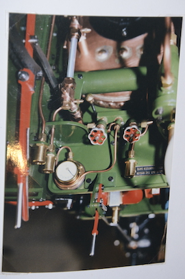 "gauge view Burrell 3"" live steam road traction engine for sale"