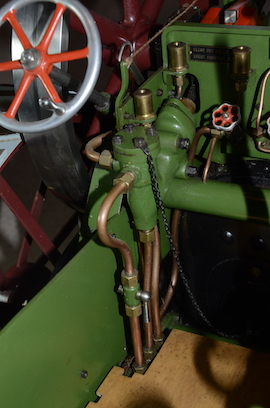 "pump view Burrell 3"" live steam road traction engine for sale"