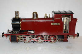 "main view 5"" Butch live steam tank loco 060 for sale"