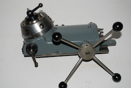 front view myford tailstock capstan 6 station turret for sale