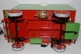 "under view 1"" caravan for minnie live steam traction engine for sale"
