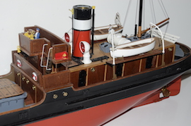 cabin Live steam Valder Craft SS Talacre cargo ship for sale RC boiler gas plant