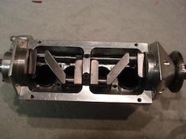 crank view Cirrus De Havilland 1/9 scale 4 cylinder aero engine by Eric Whittle for sale